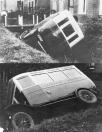 Nabij de Marechaussee's kazerne te Gorredijk zou de autobus van den heer Bareld Wielenga van Beets voor een fiets uitwijken. De bus kwam daarbij tegen de rails en stortte pardoes in de sloot. Persoonlijke ongelukken kwamen gelukkig niet voor. (1925) (Kenteken:Bareld Wiebenga, Nij Beets, gemeente Opsterland. Afgegeven: 22-2-1926 (Duplicaat 14 december 1934) (Bareld Wiebenga, Nij Beets, gemeente Opsterland. Afgegeven: 14-12-1934 (Duplicaat)