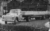 Johannes Jacobs Bijker, Gorredijk, gemeente Opsterland. Afgegeven: 07-02-1929 (Duplicaat 27 augustus 1945, overgeschreven 5 september 1949). Chevrolet, eigendom van Transportonderneming De GATO uit Gorredijk.