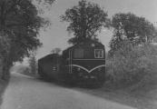 De tram tussen Lippenhuizen en de Hemrik.