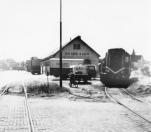 Tramstation Gorredijk circa 1960.
