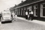 De familie Homans en Simons op de Vinkebuurt  (Langewal) (foto via L. de Vries-Homans)