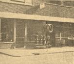 H.W.JONGBLOED, Smederij en Kachelmagazijn, N.O.Dubbele straat.