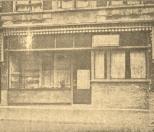G.J. BRUINSMA, Brood - Koek - en Banketbakkerij, N.O.Dubbele straat.