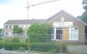 Op 7 november 2004 werd de huishoudschool gesloopt om plaatst te maken voor uitbreiding van de Burgermeester Harmsmaschool.