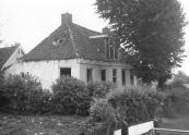De afbraak van het voormalig doktershuis dat stond zuidelijk van 't Leantsje' in voormalig Kortezwaag.