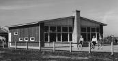 De in aanbouw zijnde kleuterschool aan de Watse Eelkestrjitte.