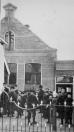 De C.V.O. school aan de Brouwerswal werd in 1895 geopend. Het eerste hoofd was Jan Hoogwerf, naar hem werd de nieuw gebouwde school aan de Jodocus Heringastrjitte in 1953 vernoemd.