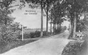 De Leyen in Kortezwaag ter hoogte van het nu openbare wandelpad  Werkmansleane, hier nog afgesloten door een hek.