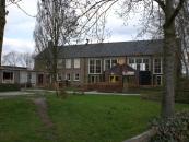 Hier een foto van het voormalige gymnastieklokaal van de Trimbeets aan de Hendrik Ringenoldusstraat 1a, nu Kindercentrum De Toverbal (kdv/bso)