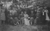 28 juni 1942, trouwfoto F.Coehoorn en F.Coehoorn van der Schaar. (foto via D.Coehoorn)