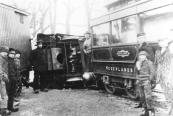 Op 18 februari 1901 ontspoorde een tram op de Hegedyk te Kortezwaag. De ravage was groot.