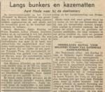 9) Uit de krant van 19-06-1950.