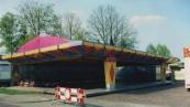 De Autoscooter, Botsauto's van de familie Regter uit Utrecht op de Gordykster voorjaarskermis van 1995. (foto: Atze J Lubach)