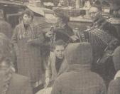 1957 Mei, Muziek van de Volendammers.