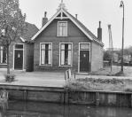 Voorgevel Molenwal 35  1969, (foto van der Wal)
