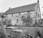Overzicht rechter zijgevel Brouwerswal 11  1969, (foto van der Wal)