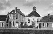 Voorzijde synagoge 1949