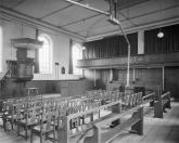 Interieur N.H. Kerk  1959, (foto Delemarre)