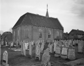Exterieur N.H. Kerk 1959, (foto Delemarre)