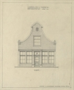 Restauratieplan voorgevel Langewal 436   1949.
