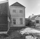 Schuur en achtergevel  Langewal 52  1981, (foto van der Wal)