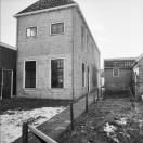 Achter en linker zijgevel Langewal 52  1981 (foto van der Wal)