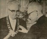 april 1966 installatie als burgemeester Leeuwarden.