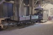 Van de Friese paardentram zijn twee kleine goederenwagentjes bewaard gebleven in het Nederlands Spoorwegmuseum te Utrecht. Hier de tweeassige NTM Dk2.