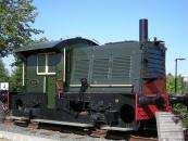 Locomotor 323 bij Modelspoormuseum Sneek