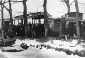 Tramongeluk aan de Hegedyk in 1901