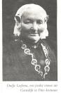 Duifje Leuvenberg-Leefsma Duifje Leefsma was een zuster van Heiman Leefsma. Hun ouders waren Sander-Alexander Heijmans Leefsma en Betje Kalf.  Duifje is overleden op 6 november 1919 in  Amsterdam.