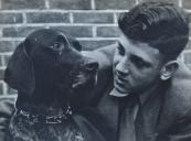 Ies met zijn hond