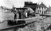 Foto fan augustus 1946 fan de houtseagerij. Foto: Hendrik Liemburg