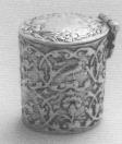 1780 Loderein doosje. Merken: Meesterteken IH onder kroonk