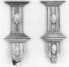 Sjoerd Hendriks Gaastra 1852 Stel boeksloten Inscriptie: T.J.K. 1852