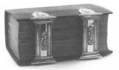 Haring Lodewijk Glasz 1845 Kerkboek met sloten