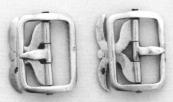 Haring Lodewijk Glasz CA. 1850 Stel gespen