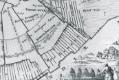 Detail uit kaart Sibrandus van Ockinga 1680