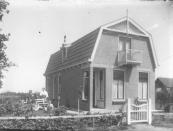 Een woning aan de Nijewei te Kortezwaag.