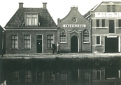 Brouwerswal 60-58 Foto via W.R.C. Alkemade archivist Regionaal Historisch Centrum  Rijnstreek en Lopikerwaard