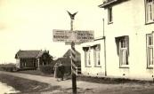 1950 Badweg hoek Hoofdstraat