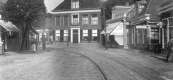 1913 Met op de achtergrond de Schansburg.