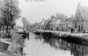 In het oudste pand van Kortezwaag dat in 1744 werd gebouwd was meer dan een eeuw een bakkerij gevestigd.