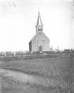 De kerk van Kortezwaag.