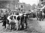Veemarkt in mei 1986.