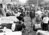 Najaarsmarkt in 1985.