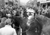 De najaarsmarkt in oktober 1984.