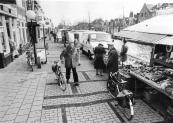 De Woensdagse weekmarkt op de Langewal 1986