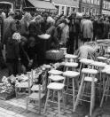 Voorjaarsmarkt te Gorredijk op 3 mei 1976
