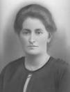 Tiete Jongbloed, de vrouw van Jan Sietzes Zwart.
